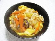 野菜たっぷりあんかけ天津飯